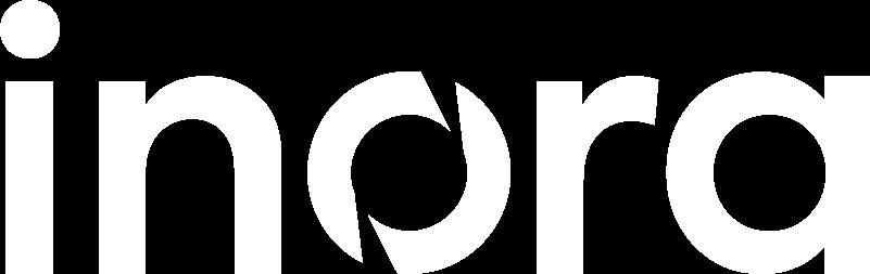 Inora-logo white
